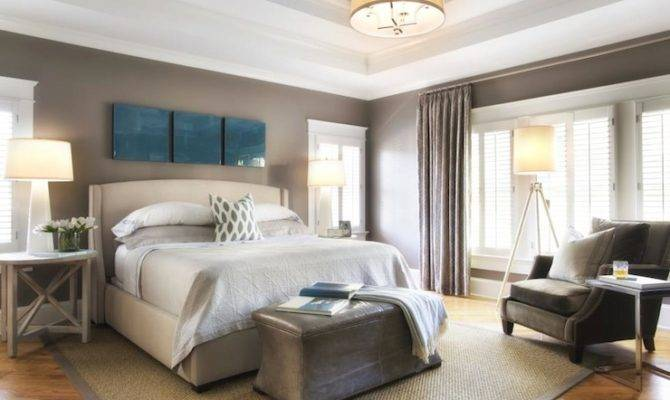 Tray Ceiling Bedroom Transitional Tri Traci