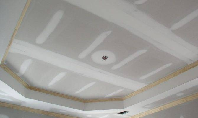 Tray Ceiling Construction