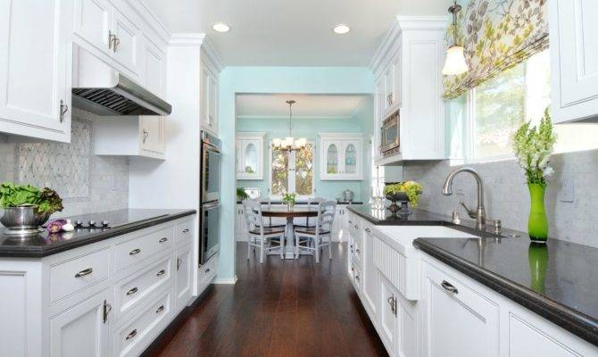Tremendeous Galley Style Kitchen Ideas Traditional