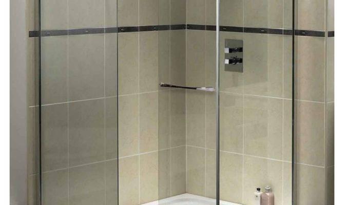Trend Homes Walk Shower Modern Design