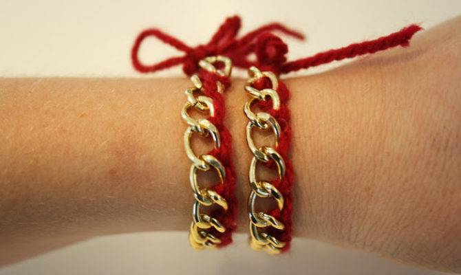 Trends Benefits Tryittuesday Diy Woven Chain Bracelet