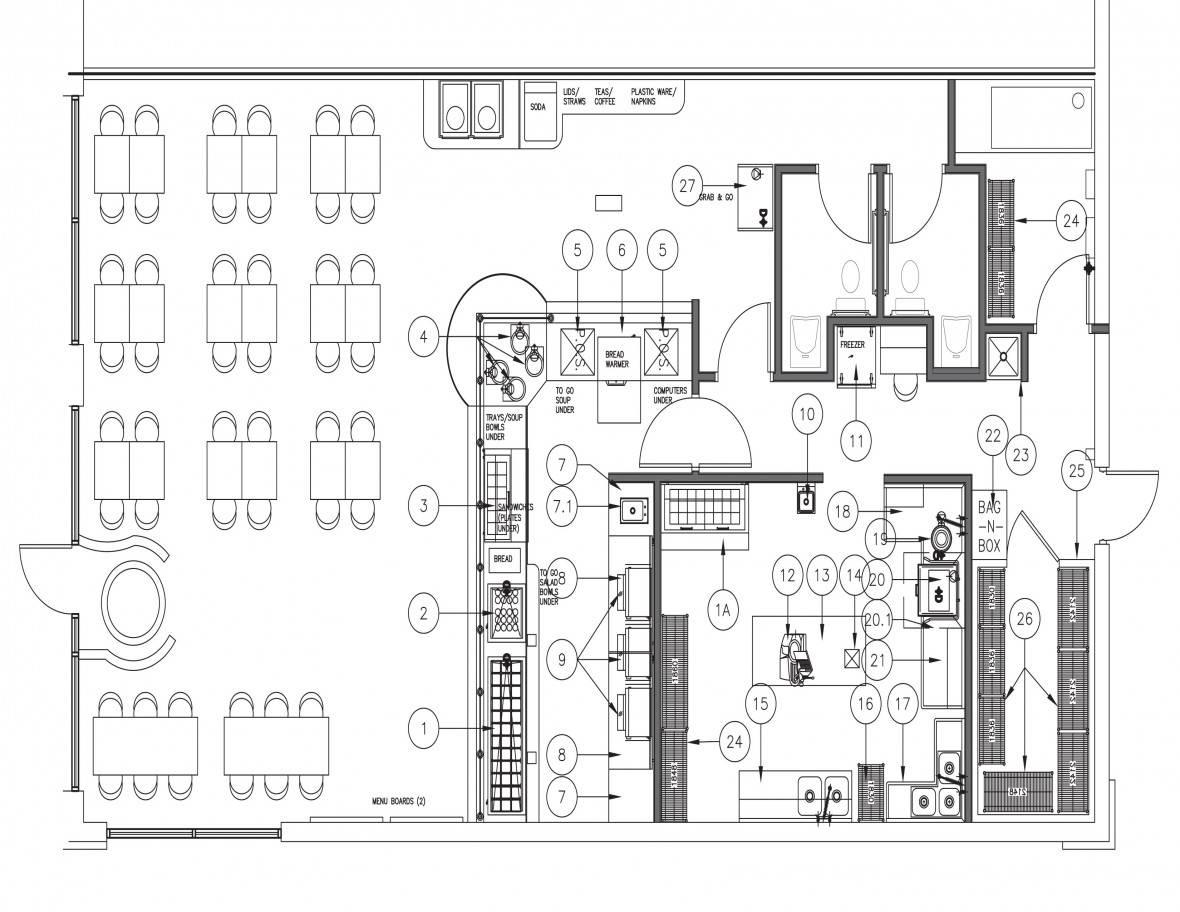 Trendy Efficient Kitchen Floor Plans Has Impressive House Plans