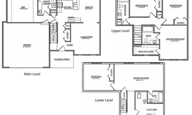 Tri Level House Floor Plans