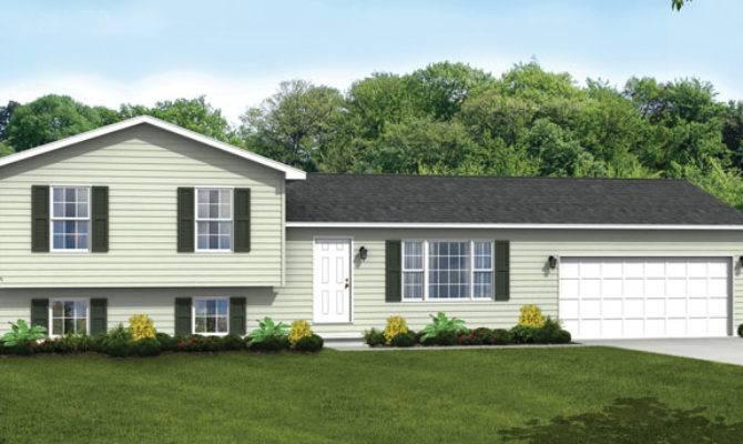 Tri Level House Plan