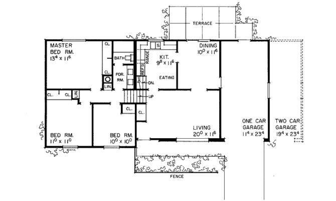 Tri Level House Plans Smalltowndjs