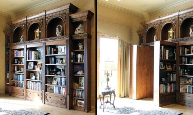 Tricky Hidden Passageways Add Intrigue Your Home