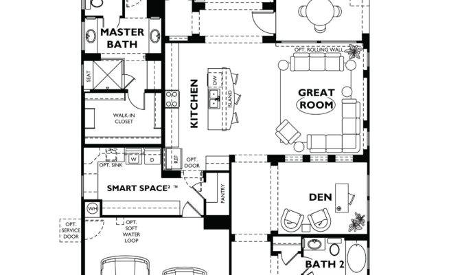 Trilogy Vistancia Nice Floor Plan Model Home Shea