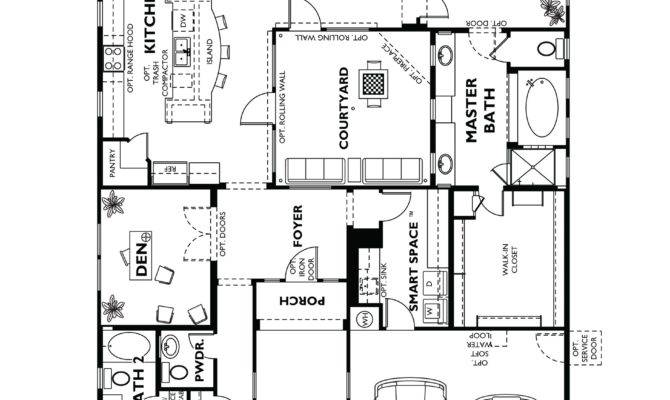 Trilogy Vistancia Positano Floor Plan Model Home Shea