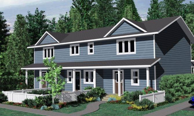 Triplex Home Plans House