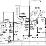 Triplex House Plans Designs Home Deco