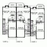 Triplex House Plans Smalltowndjs