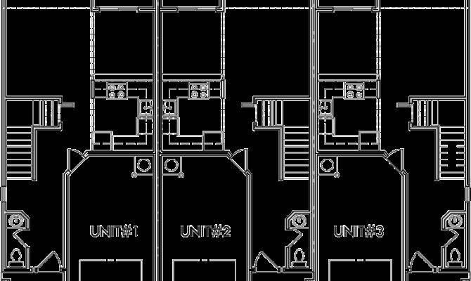 Triplex Multi Plan Bedroom Car Garage