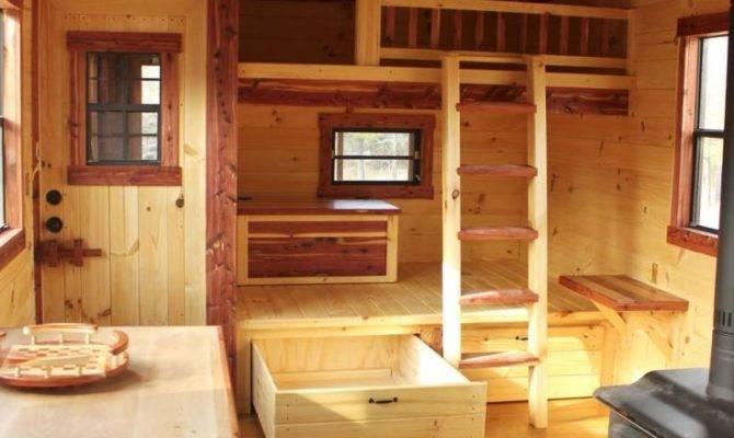 Trophy Amish Cabins Dream Home Cabin Interior Escape