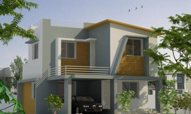 Tropical Simple Minimalist Home Design Ideas