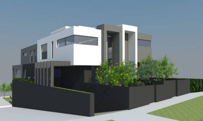 Truly Beautiful Modern Day House Plans Plan