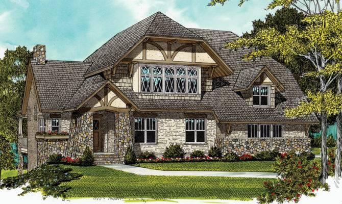 Tudor Home Plans Style Designs Homeplans