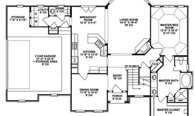 Tudor House Plan First Floor Plans More