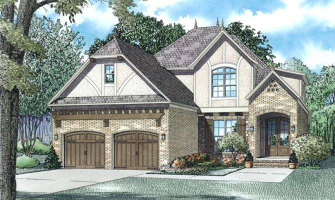 Tudor House Plan Square Feet Bedrooms Dream Home