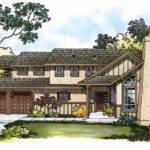 Tudor House Plans Walcott Associated Designs