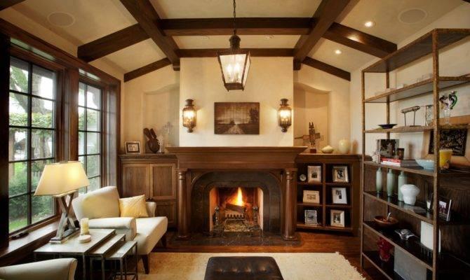 Tudor Living Room Details