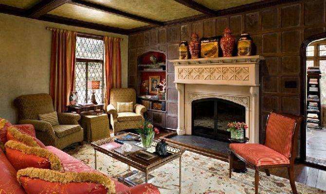 Tudor Living Room Fireplace Pinterest