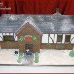 Tudor Style Gingerbread House Cakecentral