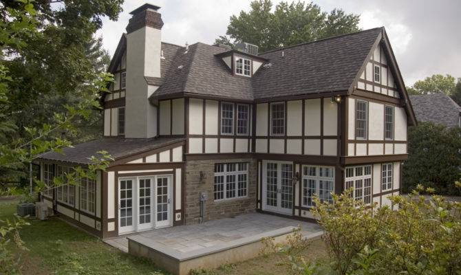 Tudor Style Home Story Addition Jenkintown