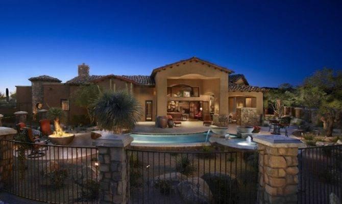 Tuscan House Plans Floor Tucson Arizona