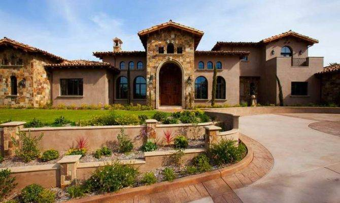 Tuscan Italian Style Home Dream Pinterest
