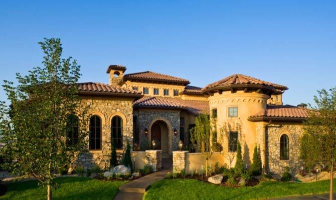 Tuscan Villa Style Homes