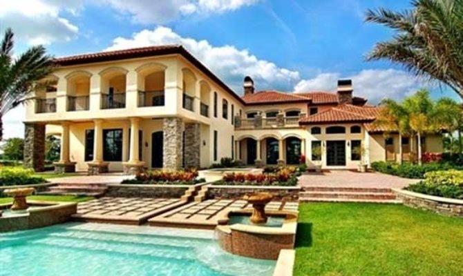 Tuscany Style Home Estate Award Winning Architect