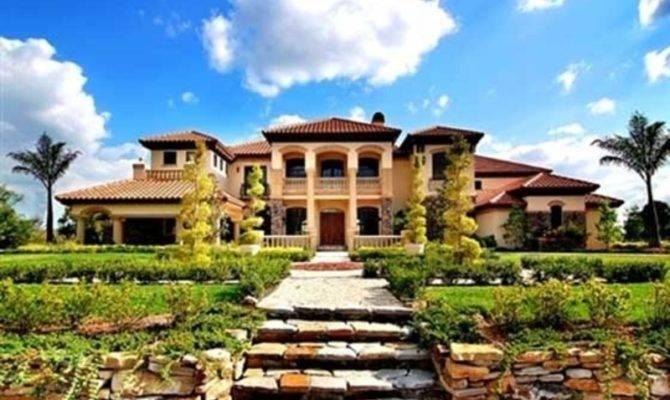 Tuscany Stylr Home Estate Award Winning Architect