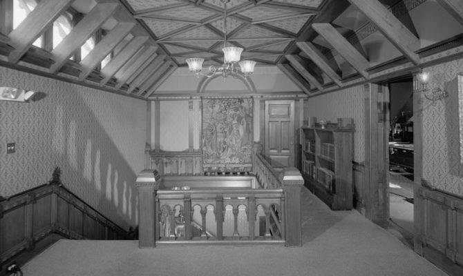 Twain House Third Floor Stair Hall Habs Conn Harf