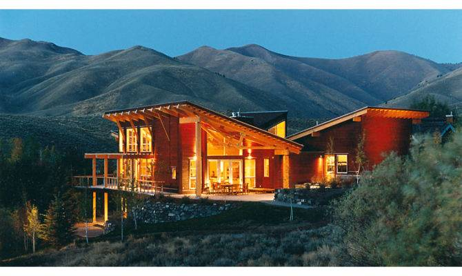 Twilight Contemporary Modern Exposed Structure Mountain Style Home