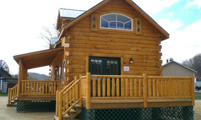 Twilight Star Log Cabins Wisconsin