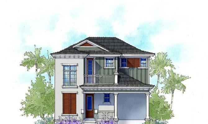 Two Bed Vacation Cottage House Plan