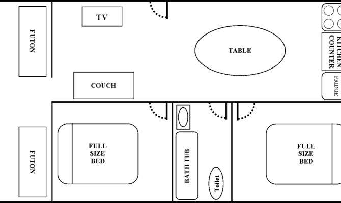 Two Bedroom Apartment Type Sketch