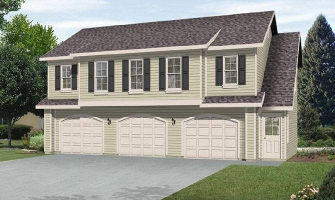 Two Bedroom Carriage House Plan Architectural