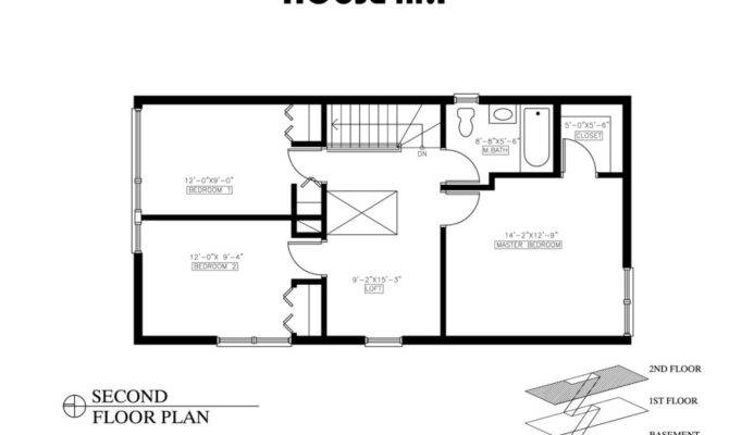 Two Bedroom House Floor Plans Luxury