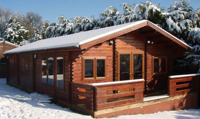 Two Bedroom Lodge Building Regs Keops Interlock Log Cabins