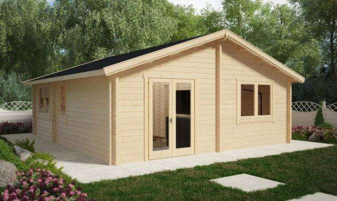 Two Bedroom Log Cabin Summer House Ireland