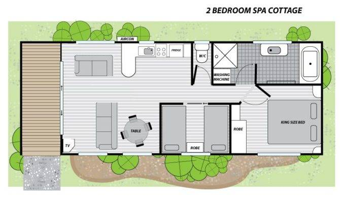 Two Bedroom Spa Cottage Ballarat Big Goldfields