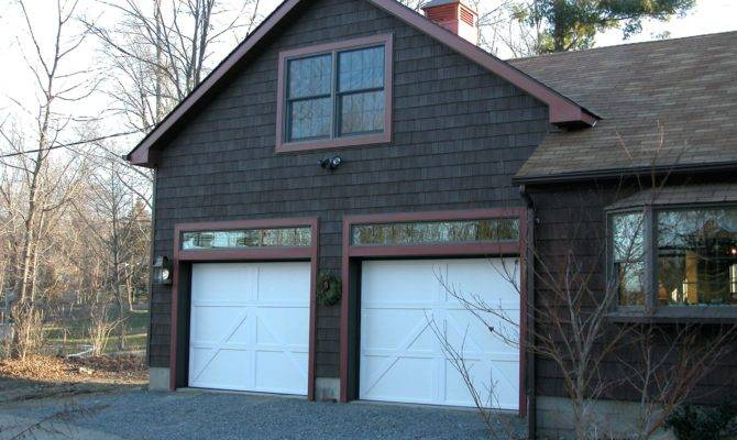 Two Car Attached Garage Plans Cape Cod Capesattached