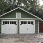 Two Car Bungalow Garage Craftsman Shed