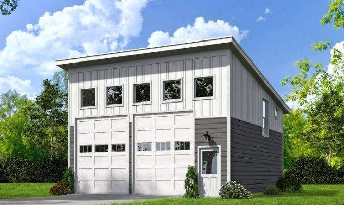 Two Car Garage Plans Unique Plan Loft