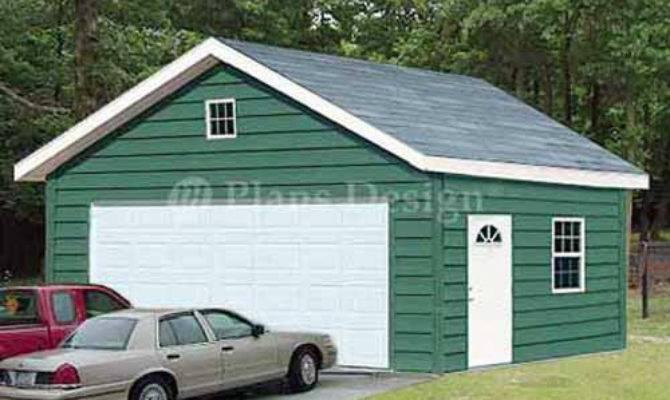 Two Car Garage Plans Workshop Shade Building
