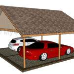 Two Car Wood Carport Plans Pdf Wheelchair Ramp
