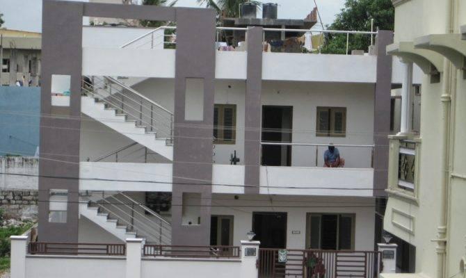 Two Floor Building Outer Elevation Designs India Latest Home