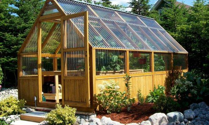 Two Greenhouses Below Standard Design Donot Have