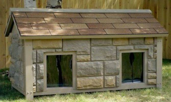Two Room Dog House Plans